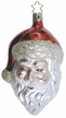 His Special Sign Santa Ornament by Inge Glas
