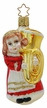 Holiday Oompah Ornament by Inge Glas