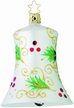 Holly Boughs Bell Ornament by Inge Glas