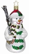 Holly Jolly Snowman Ornament by Inge Glas