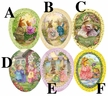 "Holly Pond Hill 12cm (4.75"") Decoupage Cardboard German Easter Eggs by Nestler - $7 each"