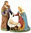 Holy Family Paper Mache Figurines by Marolin