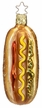 Hotdog Ornament by Inge Glas