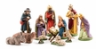 Twelve Piece Nativity Set, 12cm Scale, Paper Mache Figurines by Marolin
