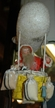 One of Kind Santa in Zeppelin Paper Mache Figurine by Werner Brauer in Hannover