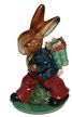 Bunny with Basket Paper Mache Candy Container by Ino Schaller