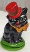 Cat with Hat Paper Mache Candy Container by Ino Schaller
