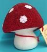 Mushroom Paper Mache Candy Container by Ino Schaller