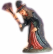 Big Witch with Hat Paper Mache Figurine by Marolin by Marolin
