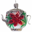 Silver Teapot Ornament by Hausdörfer Glas Manufaktur