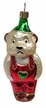 Teddy in Lederhosen Ornament by Hausdörfer Glas Manufaktur