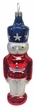 Patriotic Nutcracker Ornament by Hausdörfer Glas Manufaktur