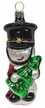 Small Soldier with Tree Ornament by Hausdörfer Glas Manufaktur