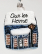 Our 1st Home Ornament by Hausd�rfer Glas Manufaktur