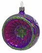 Purple Reflector Ornament by Hausdörfer Glas Manufaktur