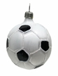 Soccer Ball Ornament by Hausdörfer Glas Manufaktur