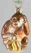 Baby Monkey Ornament by Glas-Bartholmes