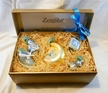Blue Baby's First, Set of Five Ornaments by Glas-Bartholmes