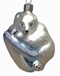 Polar Bear Ornament by Glas-Bartholmes