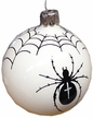 Spider with Web Ornament by Glas-Bartholmes