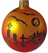 Graveyard Halloween Ornament by Glas-Bartholmes