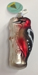 Woodpecker Ornament by Glas-Bartholmes