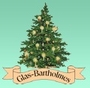 Pinecone, Clear with Glitter Ornament by Glas-Bartholmes