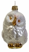 Snowy Owl Ornament by Glas-Bartholmes