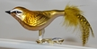 Firecrest with Feather Tail Ornament by Glas-Bartholmes