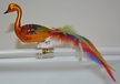 Swan with Multicolored Feather Tail Ornament by Glas-Bartholmes