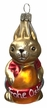 """Easter Bunny """"Gustav"""" with Egg Ornament by Glas-Bartholmes"""