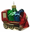 Locomotive Ornament by Glas-Bartholmes