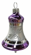 Bell, Purple Ornament by Glas-Bartholmes