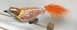 Big Bird, Feather Tail, Orange Ornament by Glas-Bartholmes