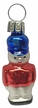 Mini Nutcracker, Red Ornament by Glas-Bartholmes