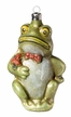 Frog Ornament made by Richard Mahr GmbH (Marolin) in Steinach