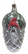 Santa in Pinecone Antique Style Ornament by Nostalgie