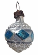 Mini Blue Reflector Antique Style Ornament by Nostalgie