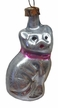 Mini Cat Antique Style Ornament by Nostalgie