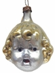 Girl Head Antique Style Ornament by Nostalgie