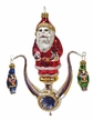 Lyre Santa with Two Nutcrackers, 2016 The Christmas Haus Limited Edition Ornament by Nostalgie