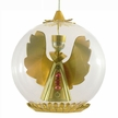 Gold Angel with Red Beads Ornament by Resl Lenz in Bodenkirchen