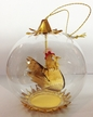 Third in the Twelve Days of Christmas Series, French Hen Ornament by Resl Lenz in Bodenkirchen