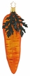 Large Carrot with Leaf Ornament by Inge Glas
