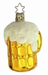 Last Call Beer Mug Ornament by Inge Glas
