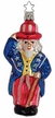 Leading the Nation Uncle Sam Ornament by Inge Glas