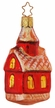Little Red School House Ornament by Inge Glas
