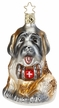 Live Saver, St. Bernard Ornament by Inge Glas