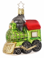 Loco-Motion Train Ornament by Inge Glas