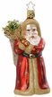 Love Delivery Santa Limited Edition Ornament by Inge Glas